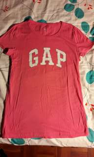 🚚 Gap珊瑚粉棉質上衣