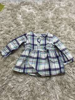 Authentic Carter's Checkered Shirt