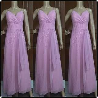 Dress pesta dusty pink
