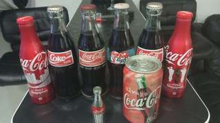 Coke Bottles antiques for collection