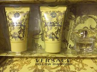 Versace Yellow Diamond Set