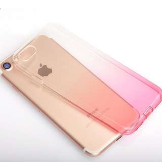 Gradient color iphone 5 5s 6 6s 7 8 Plus X case