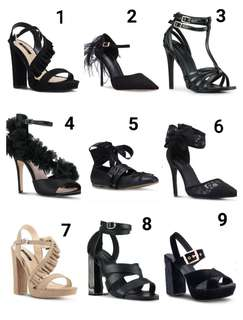 All shoes 800 each