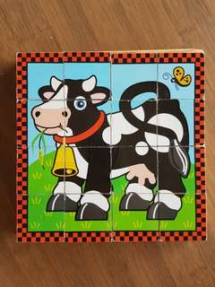 Wooden Puzzle by Melissa & Doug
