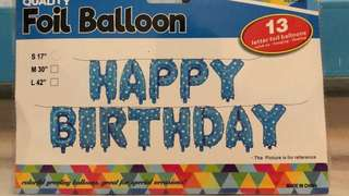 🚚 [FLASH SALES] HAPPY BIRTHDAY FOIL BALLOON