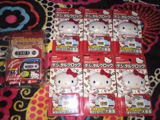 Hello kitty clock SEIWA JAPAN