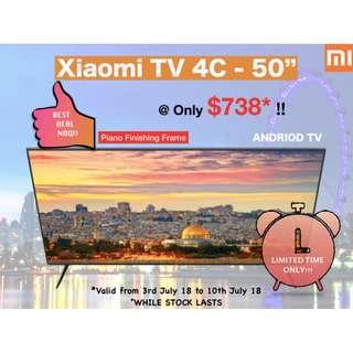 XIAOMI TV 4S - 50 INCH