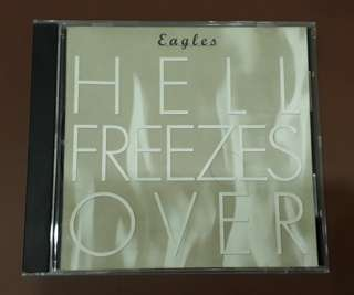 CD Eagles - Hell Freezes Over ( Original 1994 Early Press USA )