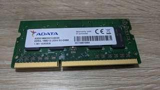 Adata 2 x 2GB (4GB) DDR3L SO-DIMM Ram Memory