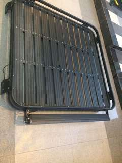Jeep aluminum roof rack