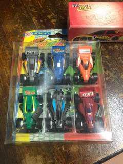 Miniature Tamiya cars