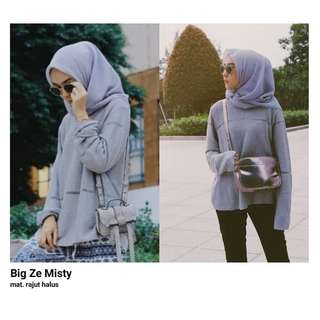 HR - 0418 - Outwear Rajut Big Ze Misty