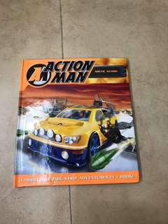 Action Man 3 stories in 1 comic