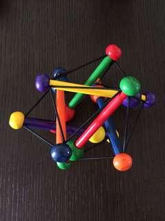 Smartest Innovation Manhattan Skwish Toy Rattler Teether
