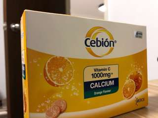 Cebion vitamin C and calcium 1000mg 4x10