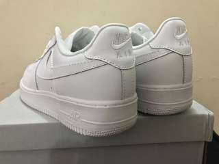 Authentic Nike Air Force All White
