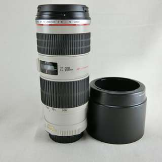 Canon EF 70-200mm F4L IS USM 變焦望遠鏡頭 小小白IS 平輸 UD鏡