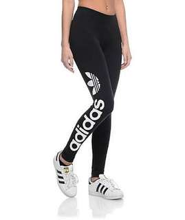 Original Adidas Linear Logo Leggings