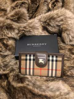 Burberry key case