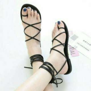Lace Up Gladiator Shoes
