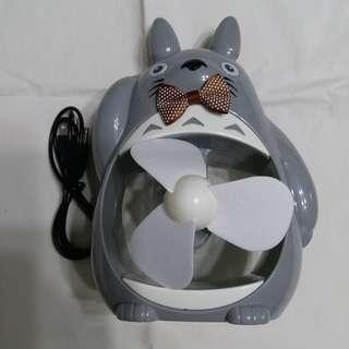 龍貓風扇(灰色)