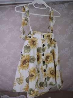 日牌Liza Liza背帶裙🌼(可拆背帶)95%新