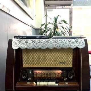 Blaupunkt Londo H4053 1953年西德藍寶真空管旗艦收音機王 Tube EL12 Radio