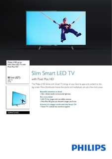 """🚚 Philips 32"""" Smart Tv"""