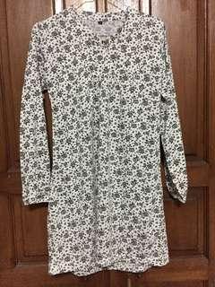 Flower Black n White Shirt