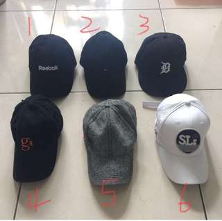 古著帽、美國帽、帽子、運動帽、棒球帽、格紋帽、白帽、黑帽、