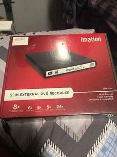 Slim External DVD Recorder