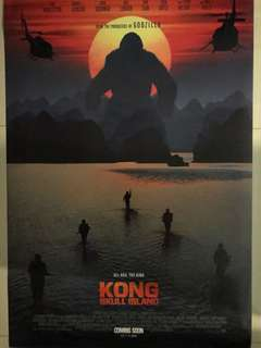 🚚 Kong Skull Island Movie Poster