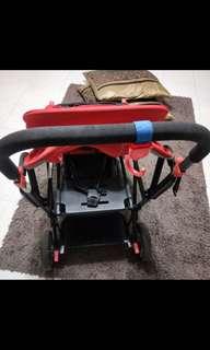Joovy Caboose Double/ Twin stroller