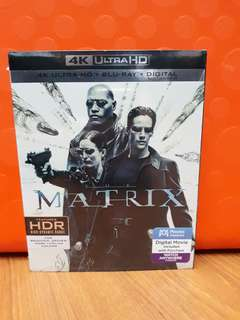 USA Blu Ray 4K UHD - Matrix 4K (ATMOS)