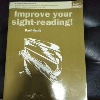 Music sight reading book