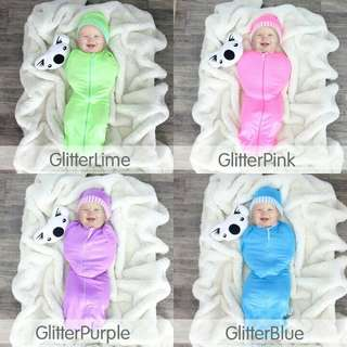 FREE Mail Glitter Edition Zip Swaddle