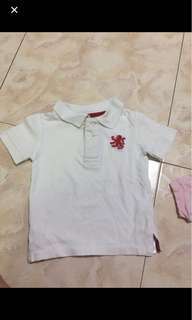 1-2 years cotton on shirt