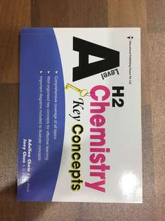 H2 A Level Chemistry Concepts Summary