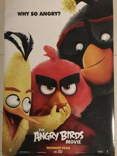 🚚 Angry Birds Movie Poster