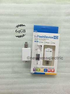 🚚 2 in 1 128GB Android and iOS USB I Flash Drive For iPhone