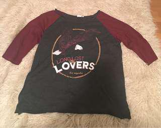 Vintage style rock tshirt