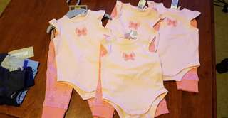 Organic Cotton Babywear Set