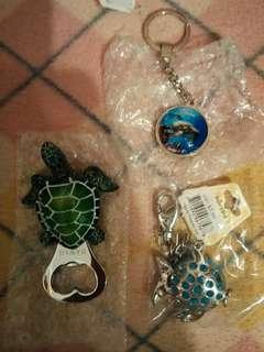 Hawaii 夏威夷手信海龜開瓶器磁石貼 匙扣