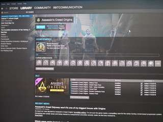 Original Steam Account with Assassin's Creed Origins Gold Edition