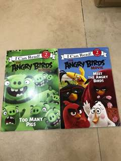 I can read - Angry Birds set BN