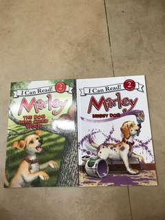 I can read Level 2 -Marley set of 2