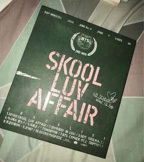 [PERSONAL COLLECTION] BTS - Skool Luv Affair