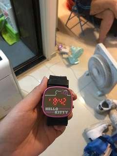 Kitty 鏡面手錶