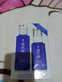 Kose lotion and emultion trial set
