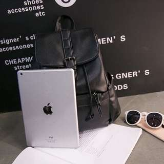 Antitheft Black Backpack